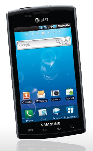 samsung captivate black 16gb at t cell phones accessories. Black Bedroom Furniture Sets. Home Design Ideas