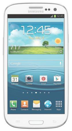 Amazon Com Samsung Galaxy S3 Marble White 16gb At Amp T