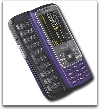 amazon com samsung rant phone purple sprint cell phones rh amazon com Samsung Intensity 3 Samsung Razor