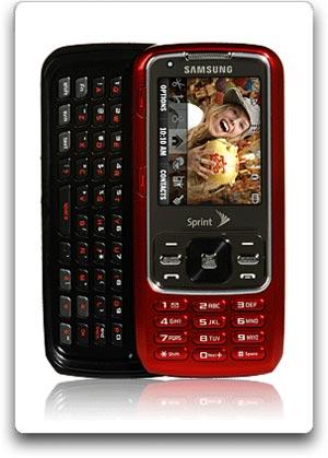 amazon com samsung rant phone red sprint cell phones accessories rh amazon com Samsung Razor Samsung Impression