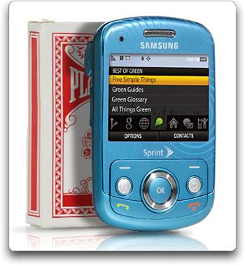 amazon com samsung reclaim m560 phone ocean blue sprint cell rh amazon com Samsung Phones Samsung Slider Phone