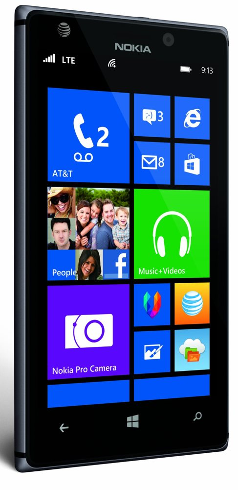 nokia lumia 925 black 16gb at t cell phones accessories. Black Bedroom Furniture Sets. Home Design Ideas