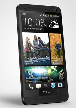 The HTC One ensures you're never out of touch with your world ( view