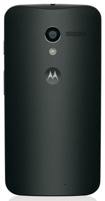 moto x black rear