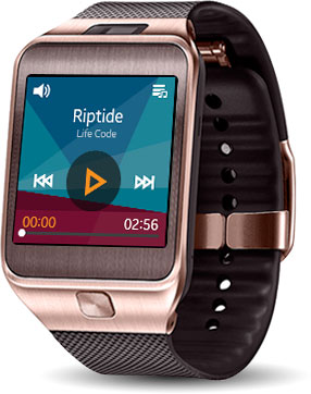 Samsung Gear 2 Smartwatch - Brown Gold (US Warranty) (Discontinued by Manufacturer)