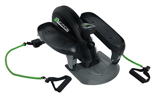 Stamina InMotion Compact Elliptical Trainer With Upper Body Cords - Small elliptical for home