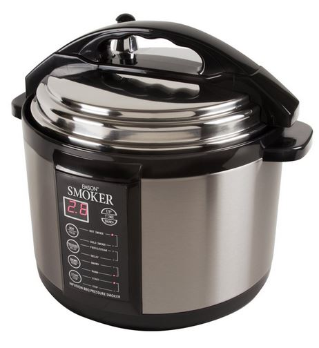 Emson electric 5qt smoker the only indoor for Electric pressure cooker fish recipes