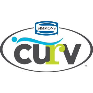 simmons mattress logo. Simmons Curv Mattress Logo