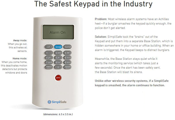 Simplisafe Simplisafe2 Wireless Home Security