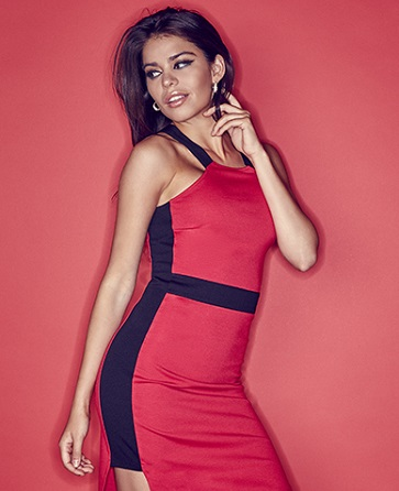G by guess red dress boutiques
