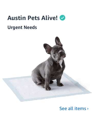 Shop Austin Pets Alive Charity List
