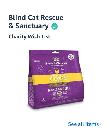 Shop Blind Cat Rescue Charity List