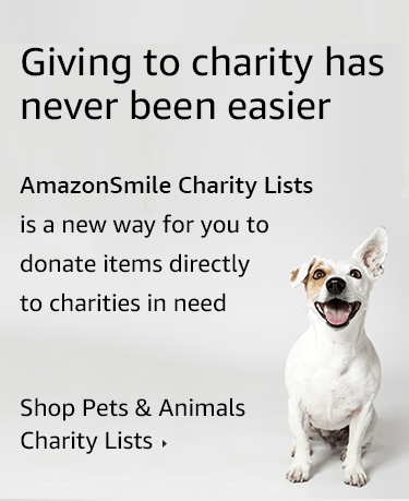 Giving to charity has never been easier Shop Pets & Animals  Charity Lists