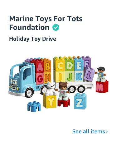 Shop Toys for Tots Charity List