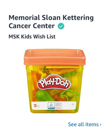 Shop Memorial Sloan Kettering Cancer Center Charity List