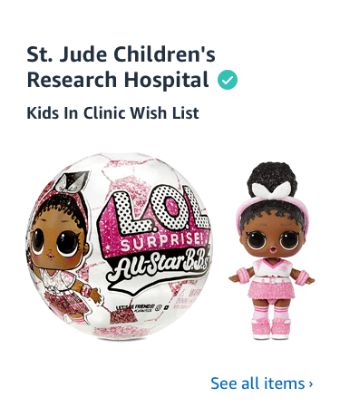 Shop St. Jude's Charity List