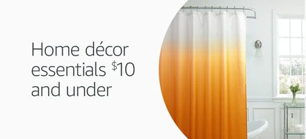 Home décor essentials $10 and under