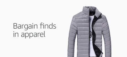 Bargain finds in apparel