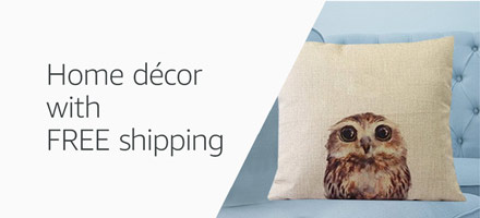 Home décor with FREE shipping