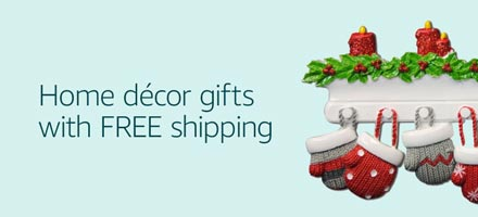 Home décor gifts with FREE shipping
