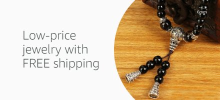 Low-price jewelry with FREE shipping