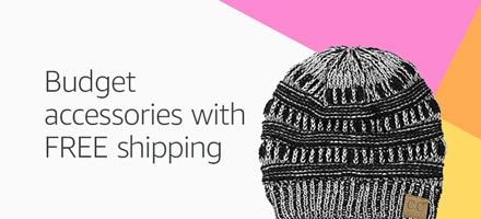 Budget accessories with FREE shipping
