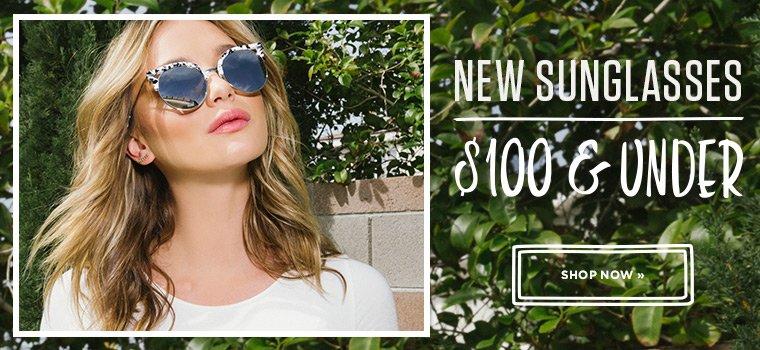 Shop Sunglasses New Arrivals Under $100