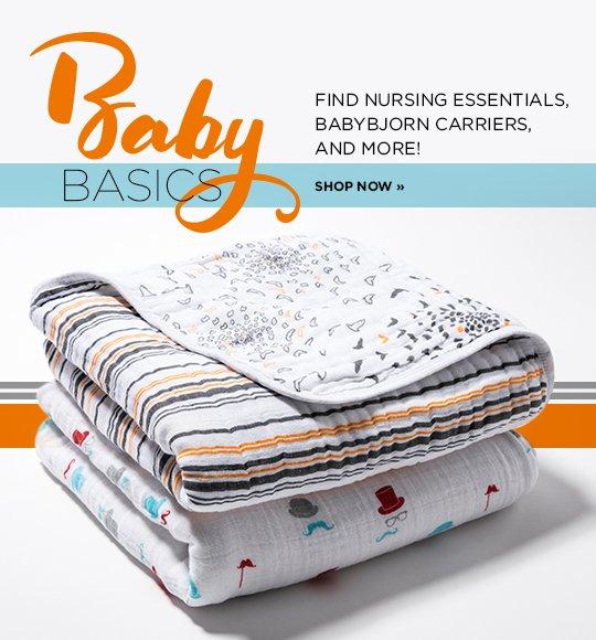 Shop Baby Essentials
