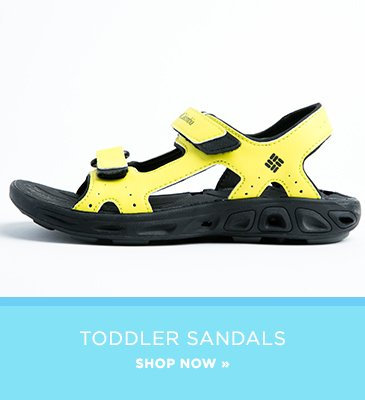 Promo: Shop Toddler Sandals