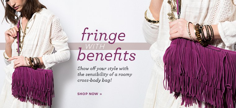 Shop Fringe Cross Body Bags