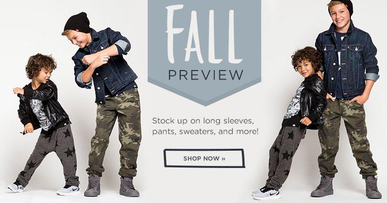Shop Fall New Arrivals