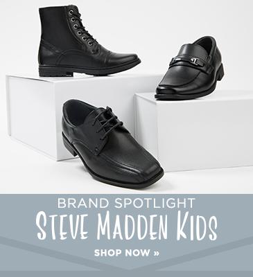 Promo Box2: Shop Steve Madden for Boys