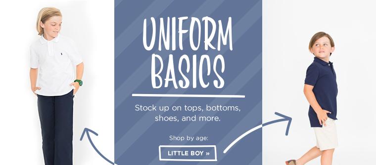 Shop Little Boys Uniform Basics