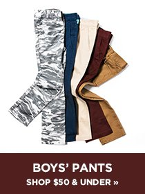 Shop Boys Pants $50 and Under
