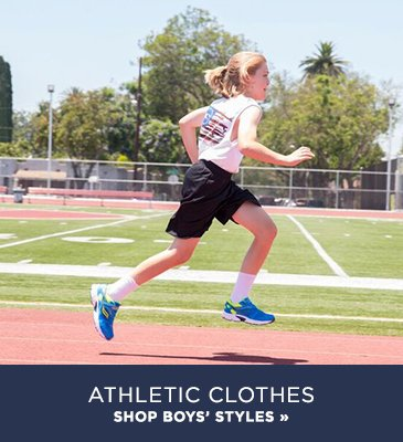 Promo2: Shop boys athletic clothes