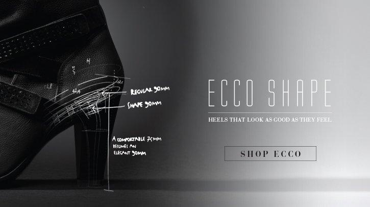 Ecco Shape. Heels that look as good as they feel. Shop Ecco