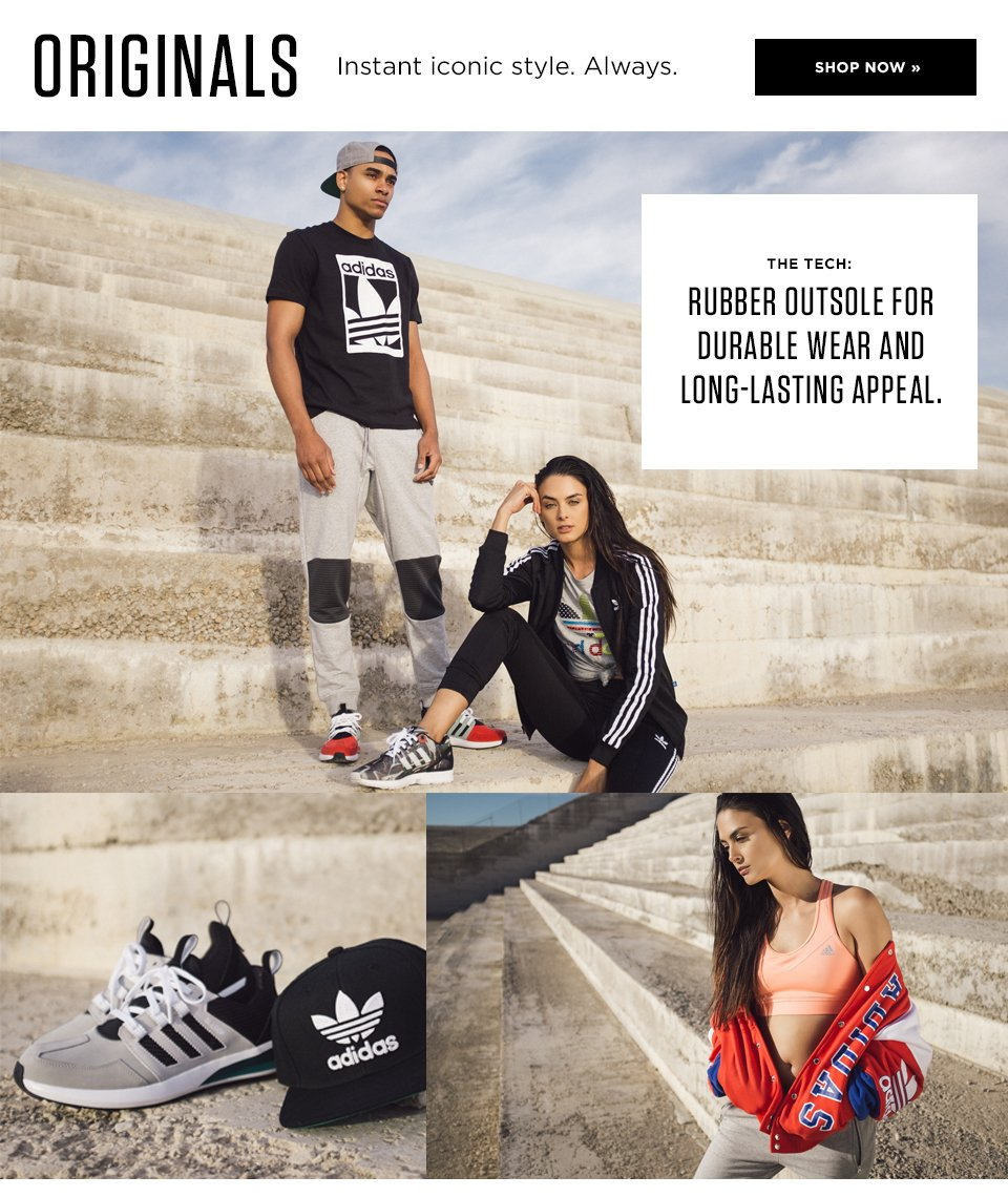 3 - adidas Originals - Retro Streetwear