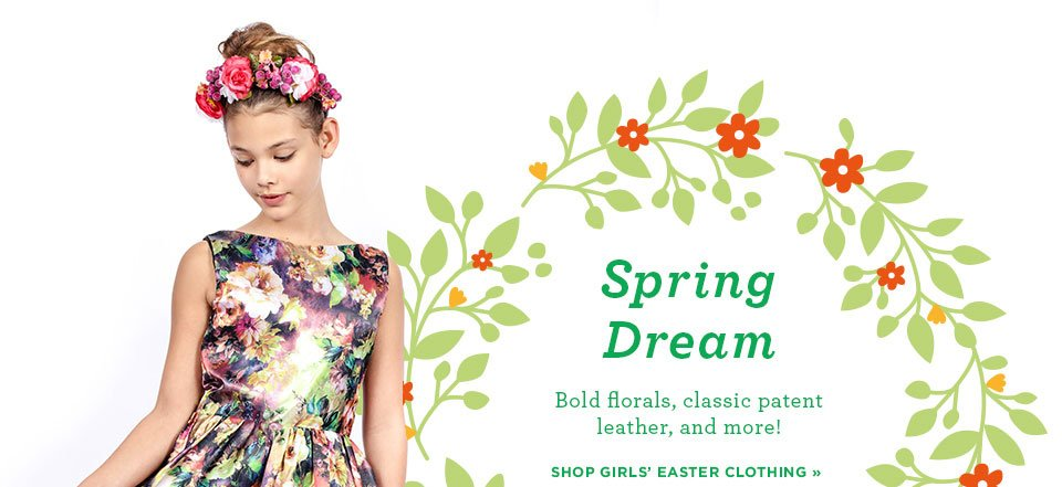 Shop Girls Easter Clothing A