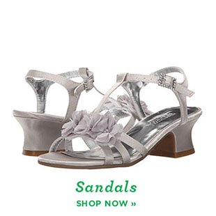 Shop Girls Easter Sandals