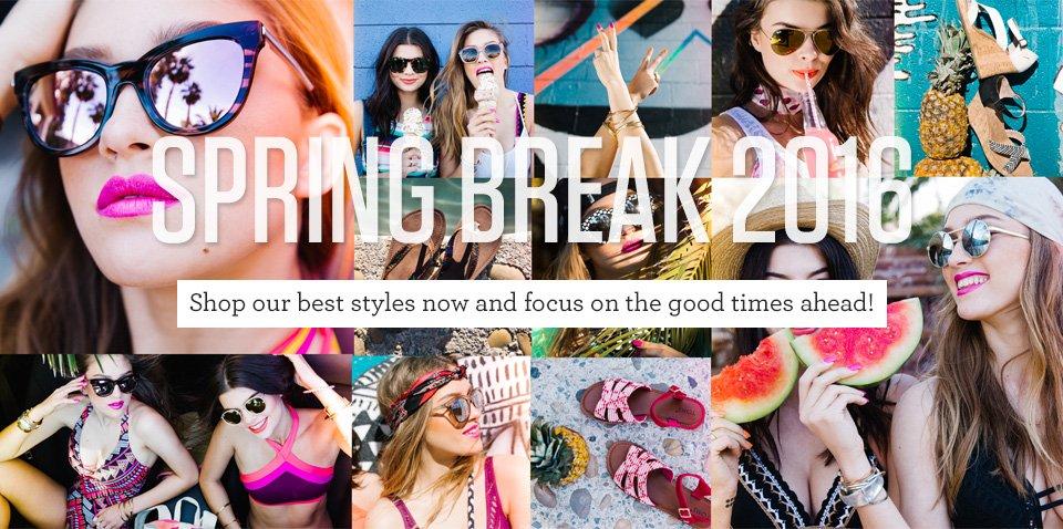 a8a056417bdc Spring Break 2016  The Ultimate Checklist