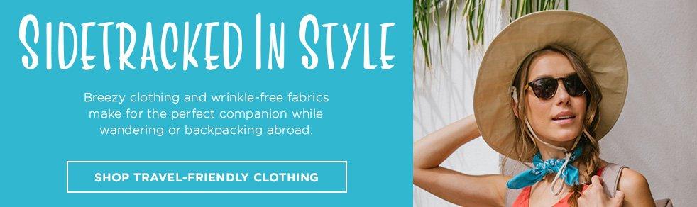 1 - Shop Travel Friendly Clothing