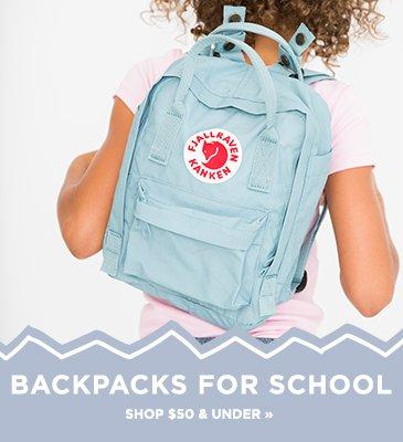 Shop Backpacks for School