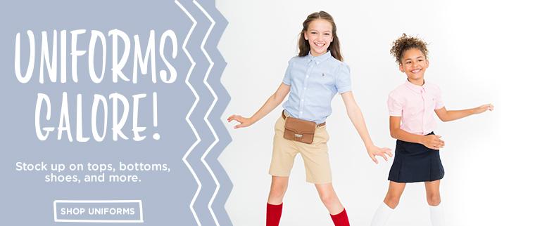 Shop Girls School Uniform Clothing