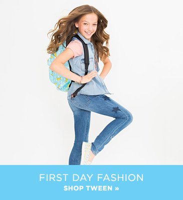 Shop for Tween clothing and shoes