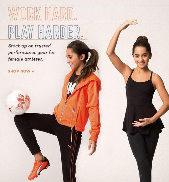 Shops Girls Athletic Clothing