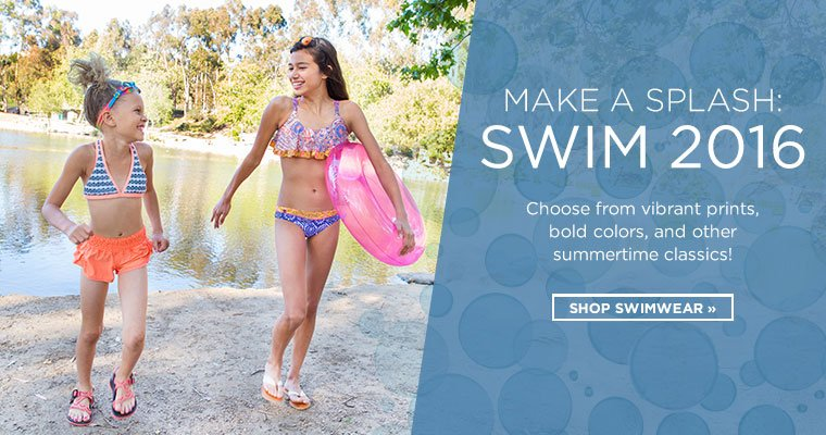 Hero: Shop Girls Swimwear