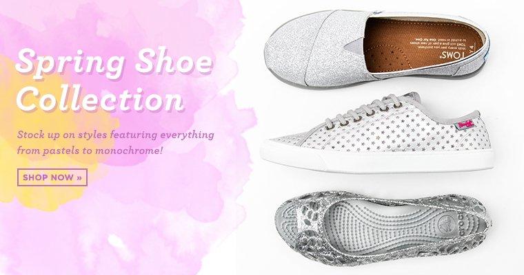 Shop Girls Spring Shoes