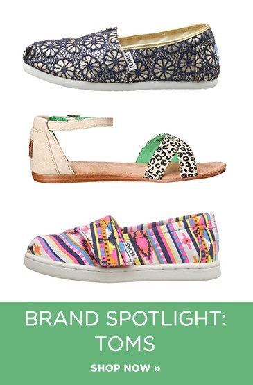 Promo2: Featured Brand Toms