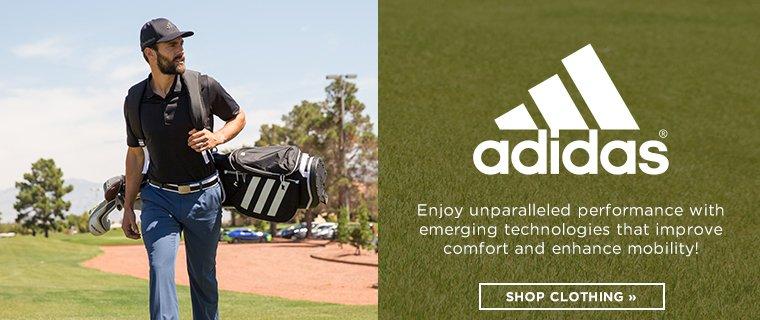 Hero - Golf Adidas Spotlight Shop Clothing