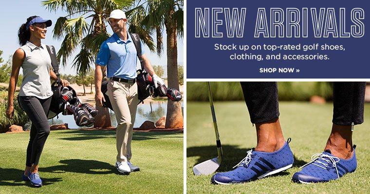 Shop New Golf Arrivals